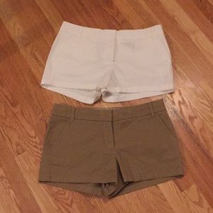 J Crew 3 inch inseam shorts bundle